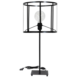 Επιτραπέζιο φωτιστικό CAGE-02 TABLE LAMP BLACK