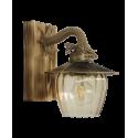Φωτιστικό τοίχου ROPE-WOOD R-98ΑΡ GLASS