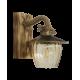 Φωτιστικό τοίχου ROPE-WOOD R-710AP BR