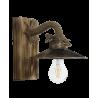 Φωτιστικό τοίχου ROPE-WOOD R-150ΑΡ-S-