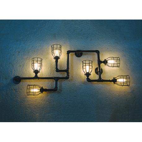 Φωτιστικό τοίχου / Οροφής PP-27 6/L ART FUN-10 BLACK