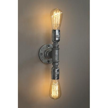 Φωτιστικό Οροφής / τοίχου  PP-27PL 2/L GALVANIZED HYDRAL