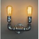 Φωτιστικό τοίχου / απλίκα PP-27AP 2/L GALVANIZED