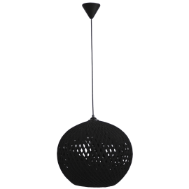 SILK-02 Φ35 BLACK 1/L PENDEL Ε/27