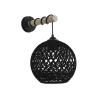 SILK-01/ΑΡ STICK BLACK Φ20 ΑΠΛΙΚΑ ΞΥΛΟ