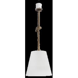 Κρεμαστό φωτιστικό FUN-03 1/Φ ROPE UT-WHITE