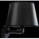Φωτιστικό τοίχου / αμπαζούρ AM-24AP BLACK