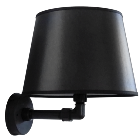 Φωτιστικό τοίχου / απλίκα AM-24AP BLACK