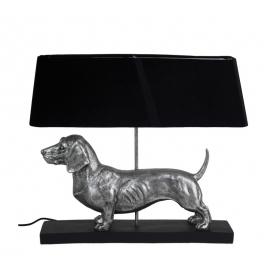 Επιτραπέζια λάμπα με φιγούρα σκύλου