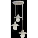 Κρεμαστό φωτιστικό/Οροφής  LP-150 PENDEL  S  3/L WHITE