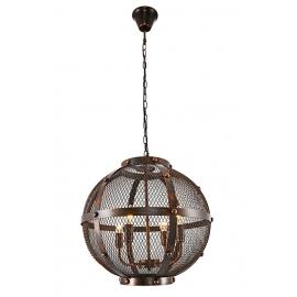 Φωτιστικό μπάλα πλεχτή μεταλλική 4φωτη Φ50