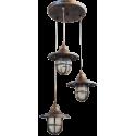 Κρεμαστό φωτιστικό / οροφής LP-700 PENDEL 3/L BRONZE