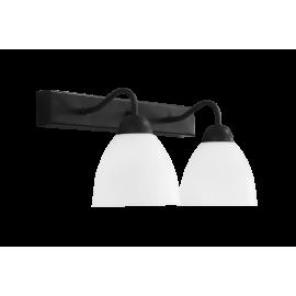 Φωτιστικό ράγα 2φωτη  OVO/AP 2/L RAGA BL-WH