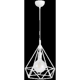 Μοντέρνο φωτιστικό DM-01 1L WHITE METAL