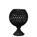 SILK-01/PR  -m- TABLE LAMP BL-BL