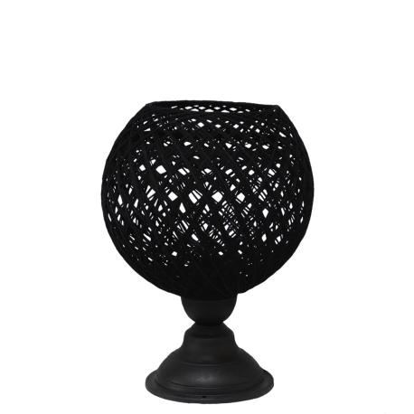 SILK-01/PR TABLE LAMP BLACK Φ20