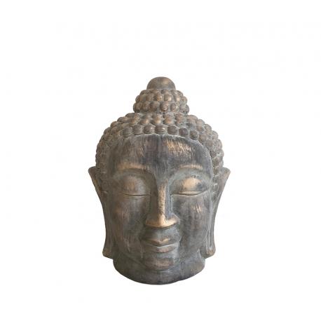 Βούδας κεραμικός Vintage gold  27,5cm