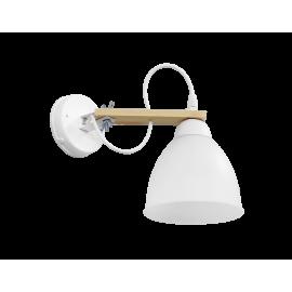 Φωτιστικό τοίχου σπαστό λευκό BREAK-01ΑΡ OVO WH-WH
