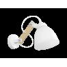 Φωτιστικό τοίχου σπαστό κάθετο λευκό BREAK-03ΑΡ OVO WH-WH
