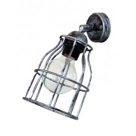 Φωτιστικό τοίχου / απλίκα  FUN-10 1/L KEY SILVER