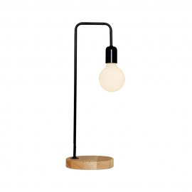 Πορτατίφ Minimal black-wood  4056-ML