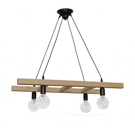 Φωτιστικό SKALA/4 WOOD CABLE