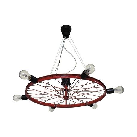 Κρεμαστό φωτιστικό FUN-16  6/L RED BICYCLE