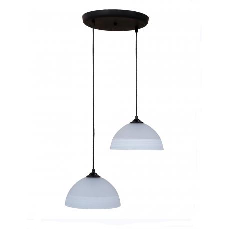 Φωτιστικό /οροφής ανισόπεδο GL-1020PENDEL 3L BL-WH