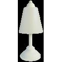 Επιτραπέζιο φωτιστικό FUN-01 PR WHITE πορτατίφ
